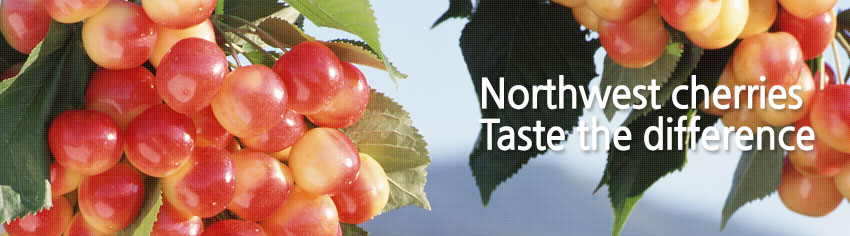 Northwest cherries Taste the difference 세번째 이미지
